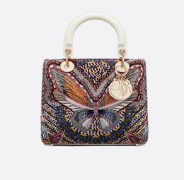 Lady Doir brodé de sacs à main pour les femmes Poignées supérieures iconiques Sacs à bandoulière Sac à bandoulière Sac à bandoulière Sac à bandoulière Embrayages Soirée ? partir de fabricateur