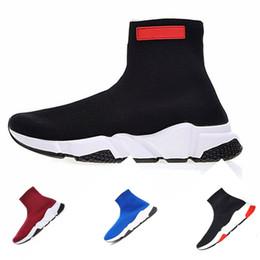 Nuevas zapatillas de fútbol spike online-Nuevo 2019 Hombres Mercurial SuperflyX VI Calzado de fútbol para interiores Spike Calcetines IC TF Botines de fútbol ACC Césped Fútbol Botas Azul Plata
