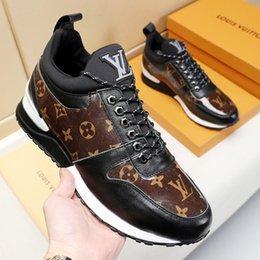 nuova moda per i pattini maschi Sconti Consegna veloce Men s Shoes nuovo arrivo Plus Size Outdoor Fashion Walking lusso Lace-up Low Top Male Sport scarpe da corsa confortevole