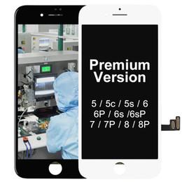 iPhone Para Tianma 5S SE 6G 6P 6SPlus 7 Plus 8 Plus tela Assembléia LCD touch substituição premium ESR Com Ferramentas Sem Dead Pixel de