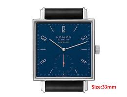 design do relógio aquático Desconto Atacado- Mulheres Relógios NOMOS homens design minimalista Simples Quartz Relógios Resistentes À Água Ultra Fina de Quartzo Homens Esportes Relógios Relógio