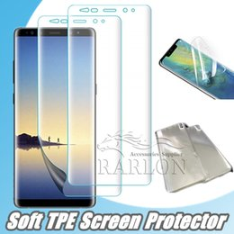 Protecteur d'écran 3D plein courbé en PET souple pour iPhone Xs Max Xr X 8 7 plus film de protection pour Samsung Galaxy S10 S9 ? partir de fabricateur