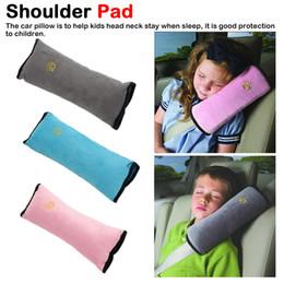 Auto-Sicherheits-Sitzpolster für Kinder Baby-Schutz-weichen Schulter-Kopfstütze Auto-Sicherheitsgurt-Bügel-Abdeckung Auto-Gurt Abdeckmatte von Fabrikanten