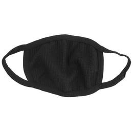 Canada masques de cyclisme anti-poussière coton bouche masque visage unisexe homme femme cyclisme portant noir mode haute qualité Offre