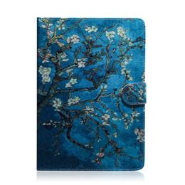 2019 ipad bedeckt eule Für iPad Mini (2019) Tablet Case Flip Cover Ständer Leder Geldbörse Farbige Zeichnung Tiger Lion Owl Flower Für iPad Mini 12345 günstig ipad bedeckt eule