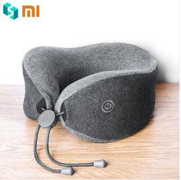 Ursprüngliche Xiaomi LeFan weiche bequeme U-förmige Massage-Nackenkissen doppelte innere Bedsit Kissen für Büro-Hauptreise-Gebrauch von Fabrikanten