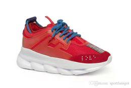 Ohne Box Herren Schuhe High Heel Kettenreaktion Sneakers Sneaker Herren Sneaker leichte, verkettete Gummisohlenschuhe von Fabrikanten