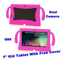 7-Zoll-Android 4.4 Kinder Tablet 8 GB WIFI Allwinner A33 Kinder Tablet + Free Abdeckung bestes Geschenk für Kinder von Fabrikanten