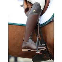 sports équestres Red Riding Crop cheval fouet Confortable Poignée équitation Gear