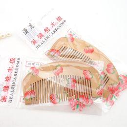 onda il commercio all'ingrosso magico pennello Sconti Pettine in legno pettine in legno antistatico adatto per piccoli doni