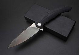 Asymmetric A alta qualidade tático faca ao ar livre dobrável tática EDC caça faca de sobrevivência de acampamento tático defensivo faca militar de