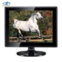 2019 exibição de escudo [HFSECURITY] 1024 * 768 HD de 14 polegadas Tela LCD Do Computador Monitor de Óculos de Laptop Monitor Externo VGA Desktop Display exibição de escudo barato