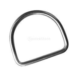 316 нержавеющая сталь дайвинг D кольцо для 5 см Вес пояса лямки восхождение жгут сумки рюкзак передач аксессуары пряжки крюк от