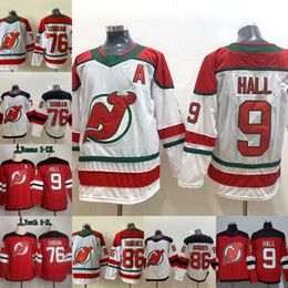 camisas do hóquei dos diabos Desconto 2019-20 New 9 Taylor Salão Jersey New Jersey Devils 76 P. K. Subban 13 Nico Hischier 86 Jack Hughes Mens Hockey Womens Juventude Jerseys Vermelho Branco