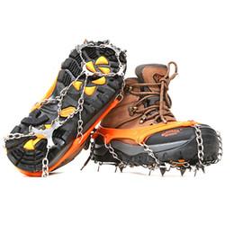 2019 armi da arrampicata 8 10 Denti Artigli antiscivolo Ramponi da ghiaccio Acciaio al manganese Pinze da neve in acciaio inossidabile Gripper Escursionismo Catena da arrampicata