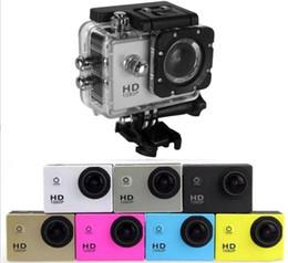 2019 tf led écran SJ4000 HD Action Caméra Sport Numérique 2 Pouces Écran Étanche 30M DV Enregistrement Mini Sking Vélo Photo Vidéo