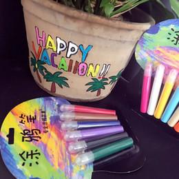 Illuminazione ceramica notte online-Penna in ceramica per pennarelli per pennarelli per pennarelli per pennarelli per night light