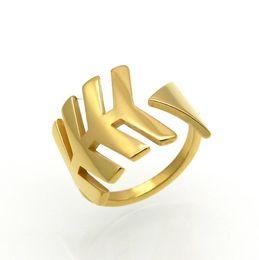 Открытая кость онлайн-Мода из нержавеющей стали 316L Fish Bone Design Расширяемое кольцо Гибкая титановая сталь Стрелка Открытое кольцо Полированное IP-покрытие Кольцо