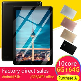5mp camera android tablet Coupons - 5000mAh 10 'Android Tablets8.0 Quad Core 4GB RAM Internal 64G Camera 5MP Tablet With a Sim Card PC WiFi GPS Bluetooth