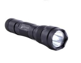 Lanternas led holster on-line-Livre DHL, Ultratfire WF-502B Tocha 5 Modo 1000 Lumen CREE XM-L T6 LEVOU Lanterna 18650 Bateria Tocha + Carregador + coldre