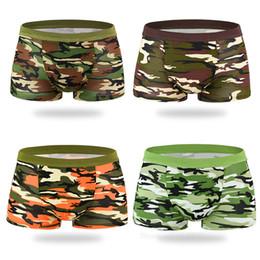 VIEKUCOOL slip chargé de camouflage mâle fibre de bambou caleçon respirant boxer pantalon Army Green ? partir de fabricateur