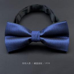 Pajarita roja de paisley online-Mens Bowtie Bow Ties Pre-atado Ajustable Sólido Rojo Jacquard Tejido Bow Tie Accesorios de Moda Envío Gratis