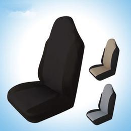 2019 fundas de asiento de coche duraderas 1 unids Funda de asiento de coche Durable Auto Asiento trasero delantero Protector de cojín Soporte de suministro Ajuste para todos los coches SUV Venta caliente EEA418 fundas de asiento de coche duraderas baratos