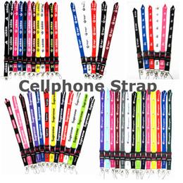 Mode-handy-armband online-Fashion Bekleidung Sport Lanyard Abnehmbarer Umhängeband Lanyard für Keyring Schlüsselanhänger Handy-Karte DHL Verschiffen HEISS
