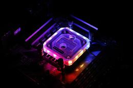 Барроу LTYK3A-04 V2 LRC2.0 RGB CPU водяного охлаждения блока для AMD FM1 FM2 AM2 AM3 AM4 от