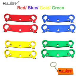 mini mx Coupons - XLJOY Front Fork Triple Tree Clamps Fork Plate For 47cc 49cc Mini Moto Pocket Bike A1 A2 A3 MTA1 MTA2 Cags Mx-3 GP-RSR