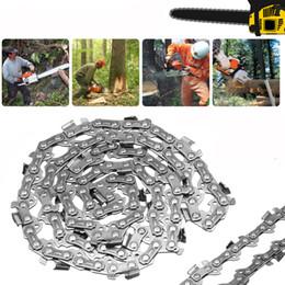 Eslabones de la cadena de madera online-Jardín Corte de madera Aleación Motosierra Motosierras Parte 52 Barra de enlace 14 '' 3/8 x 0.050 Hoja LP