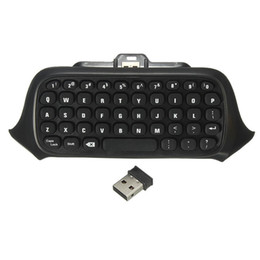 Tastiera 2.4G Mini Wireless Chatpad Messaggio per Xbox un controller da tv pad iptv fornitori