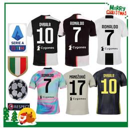 76195abc2d0 2019 ronaldo DYBALA PJANIC COSTA fußball jersey 19 20 JUVENTUS Italien  MANDZUKIC BUFFON zuhause mann frau kinder jungen kit JUVE sport fußball hemd