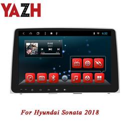 2019 hyundai auto dvd spieler YAZH 9.0 Zoll Android 8.1 GPS Navigation für Hyundai Sonata 2018 Autoradio 2GB 32GB IPS Anzeige 1 Lärm Autoradio KEIN CD AUTO DVD Spieler rabatt hyundai auto dvd spieler