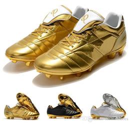 Hot Mens Tiempo Legend VII 7 R10 Elite FG Ronaldo de Assis Moreira Zapatos de fútbol con bajo tobillo Botas de fútbol Botines EE. UU. 6.5-11 desde fabricantes