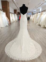 Canada 2020 dernier style de la mode simplement Elegence Une ligne robe de mariée sirène trompette pour la mariée en stock étourdir robe de mariée Offre