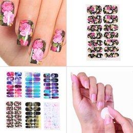 2019 punta bianca per avvolgere il chiodo 6Pc Adesivi per nail art con copertura completa Smalto per filigrana Adesivi per unghie Suggerimenti Fai da te lucido cursore avvolge Manicure Decor