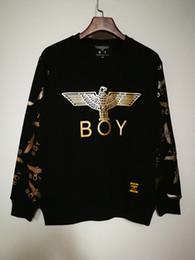 2019 männer junge london hoodie Cotton Boy London Mens Hoodies und Sweatshirts Marke Langarm Sportwear Kleidung Winter Herbst Dünne Mantel Mode Schwarz Sweatshirt Männer günstig männer junge london hoodie
