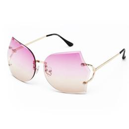 3d99d906bfd New Arrival Girl Unique Rimless Sunglasses Women Retro Ombre Lens Glasses  Eyeglass Frame For Free Shipping multicolor eyeglass frames for women for  sale