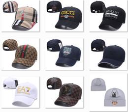 Argentina Precio de la promoción Gorras de béisbol del diseñador Street Headwear Sombreros de béisbol con estilo Cuadro Logo Cap Luxury Mens Hats Canadá Niza Snapback Caps DF13G03 Suministro