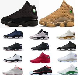 13s chaussures de basket-ball hommes 3M GS Hyper Royal Italie Bleu Bordeaux Flints Chicago Bred DMP Blé Olive Ivoire Noir Cat baskets ? partir de fabricateur