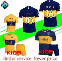 2019 2020 Boca Juniors futbol Forması İç saha Deplasman 19 20 Boca Juniors GAGO OSVALDO CARLITOS PEREZ DE ROSSİ TEVEZ PAVON JRS spor futbol forması cheap soccer jerseys tevez nereden futbol formaları tevez tedarikçiler