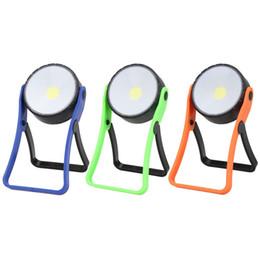 2019 magnet blaues licht Rekonditionierungs-Werkzeug-Lampe mit Magnet 360 Tour Bracket-Überholungs-Lampen 3W blaugrünes rundes einfaches Notlicht 7 5qtC1 günstig magnet blaues licht