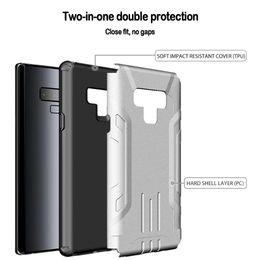 сотовые телефоны a9 Скидка Для Samsung S8 S9 Plus NOTE9 A9 Note8 Новый дизайн брони утолщение чехол для мобильного телефона ПК ТПУ Жесткие чехлы для телефонов