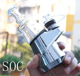 cigarrillo electrónico usado Rebajas SOC Pico Enail Kit Cera Concentrado Destruir Budder Dab Kit Rig Con 4 Ajustes de calor y de larga duración para Puffco Pico