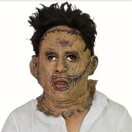 máscara de filme assustador Desconto Assustador Filme E Televisão Adereços Látex Bar Máscara de Dança Cosplay Traje Estrelas Do Filme Do Partido Máscara de Látex