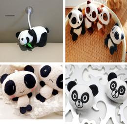Piccolo panda panda online-6Designs, Cute 4-12CM Panda giocattoli peluche, Peluche Panda peluche, Giocattoli per bambini Bambole piccolo regalo per bambini