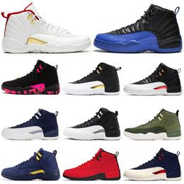 FIBA 12 12 s Erkekler Basketbol Ayakkabı DOERNBECHER Oyunu Kraliyet Ters Taksi Master UNC Fransız Mavi Erkek Eğitmen Spor Ayakkabı 7-13 cheap taxi 12 shoes nereden taksi 12 ayakkabı tedarikçiler
