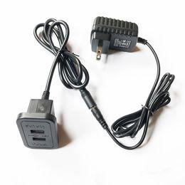 Prise de courant murale Accessoires de meubles Composant de fantaisie Partie de canapé Charge Rectangle USB Chargeur Fabrication de meubles RRA718 ? partir de fabricateur