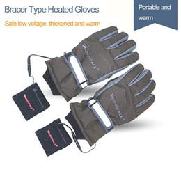 2019 нейлоновые водонепроницаемые перчатки 2019 грелка для рук с подогревом Электрические перчатки Аккумуляторные перчатки 4 часа катания на лыжах Водонепроницаемый ветрозащитный с подогревом